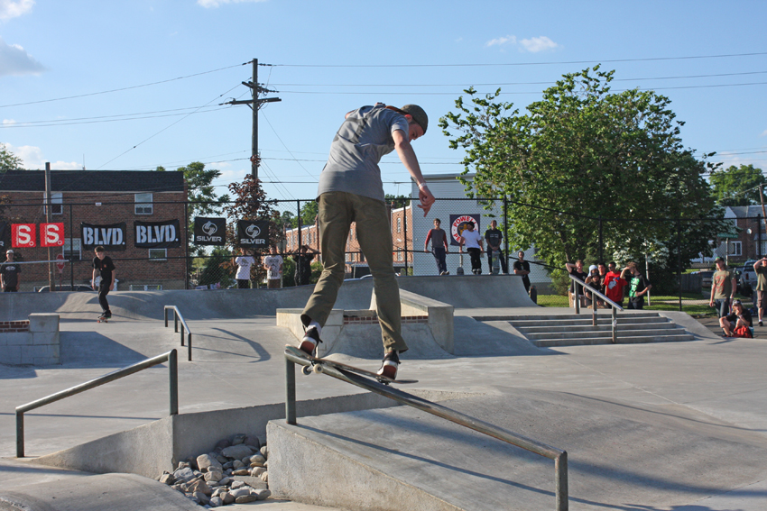 Seth with a back lip